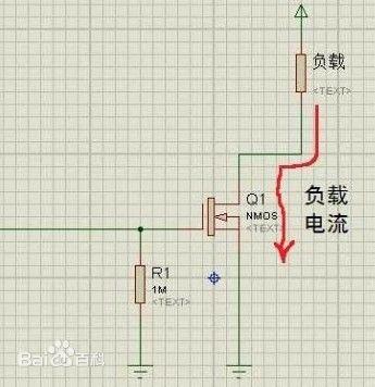 场效应管(mosfet)是由加在输入端栅极的电压来控制输出端漏极的电流.